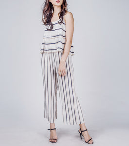 Lana Spaghetti Stap Top w/ Wide Leg Pants Set