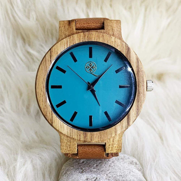 Para Sa Aking Ina - Wood Watch - AQ14