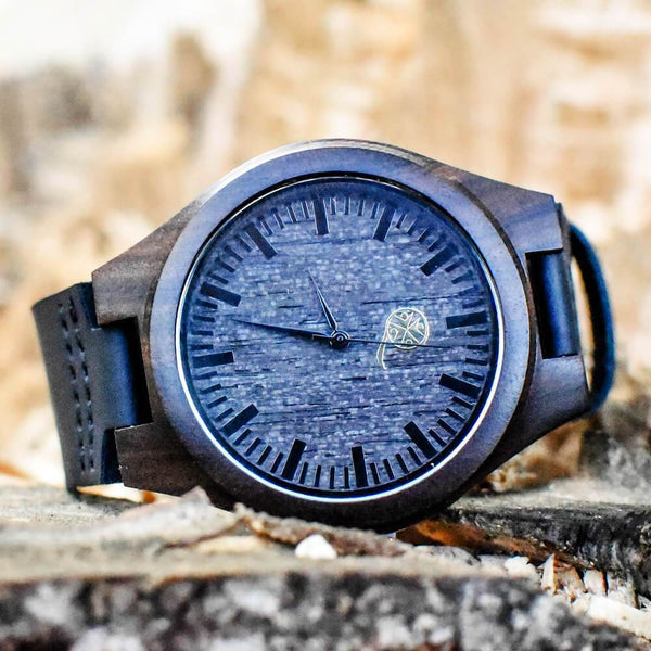 The Legendary Papa - Wood Watch - AQ19