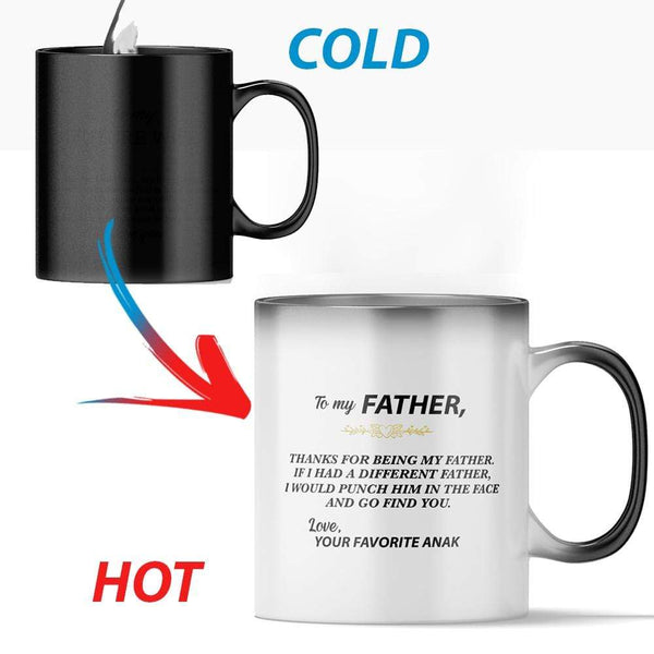 To My Father - Color Changing Mug - MMAQ17