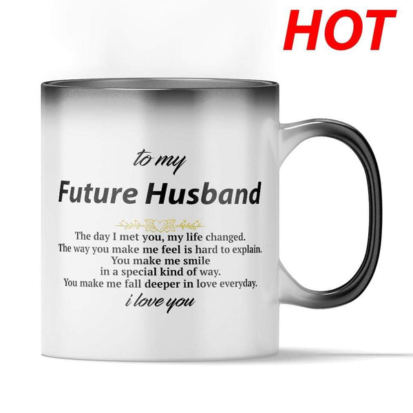 To My Future Husband - Color Changing Mug - MMAQ14
