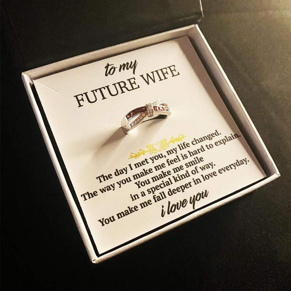 To My Future Wife - Infinity Love Ring