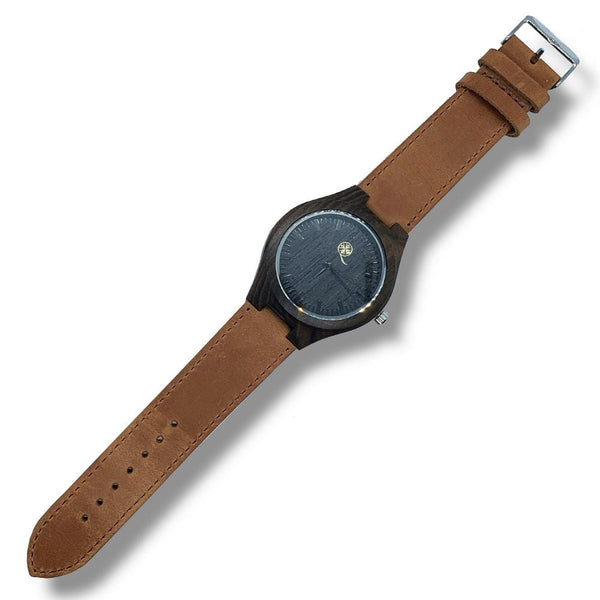 To My Husband - Brown Leather Strap - AQ21