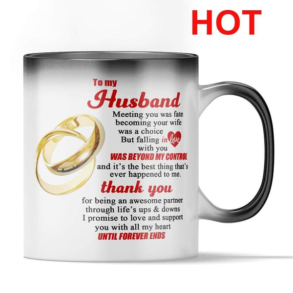 To My Husband - Color Changing Mug - MMAQ10