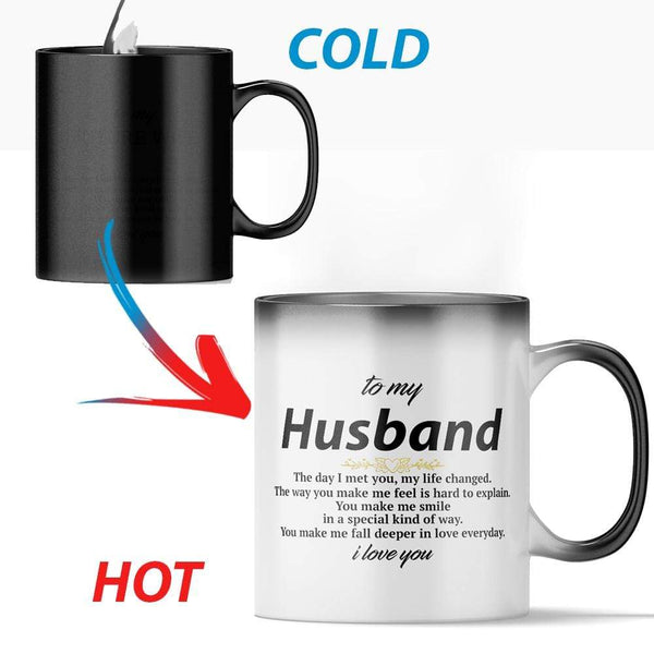 To My Husband - Color Changing Mug - MMAQ13