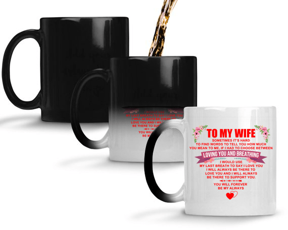 To My Wife - Color Changing Mug - MMAQ01