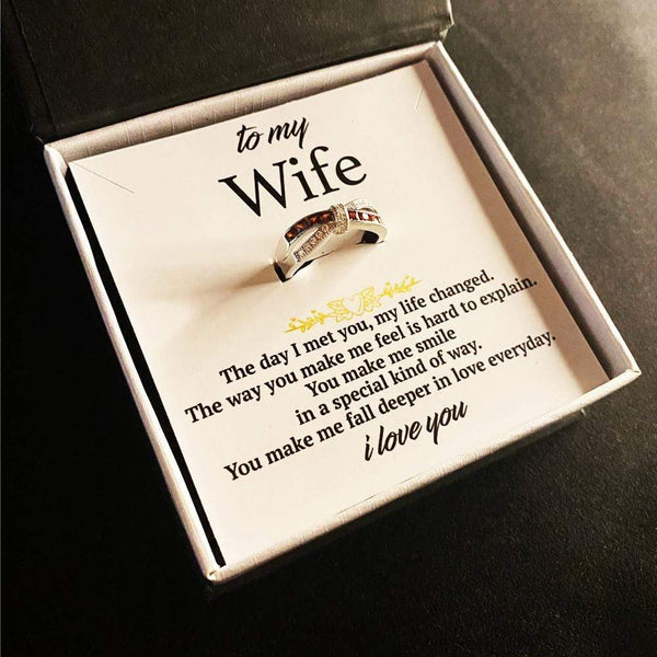 To My Wife - Infinity Love Ring