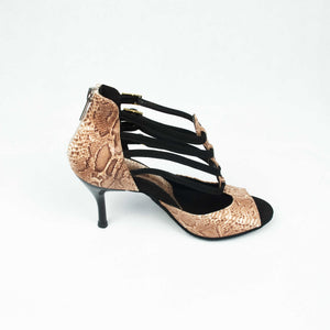 dance in style - amazon pattern Italian made women dance shoe, 30 day return policy, flat rate shipping.