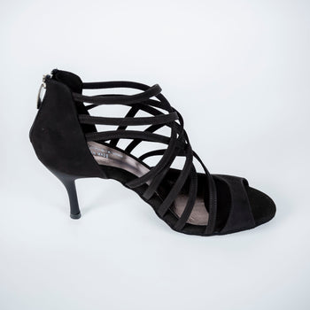 dance in style - madrid black Italian made women dance shoe, 30 day return policy, flat rate shipping.