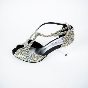 dance in style - rome Italian made women dance shoe, 30 day return policy, flat rate shipping.