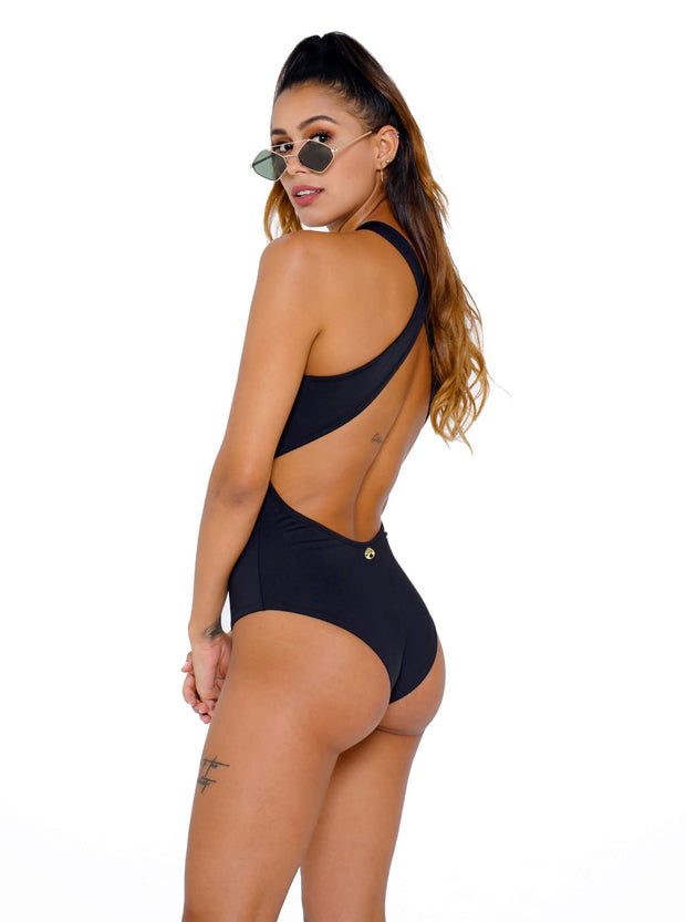SWIMSUIT HALTER BASIC