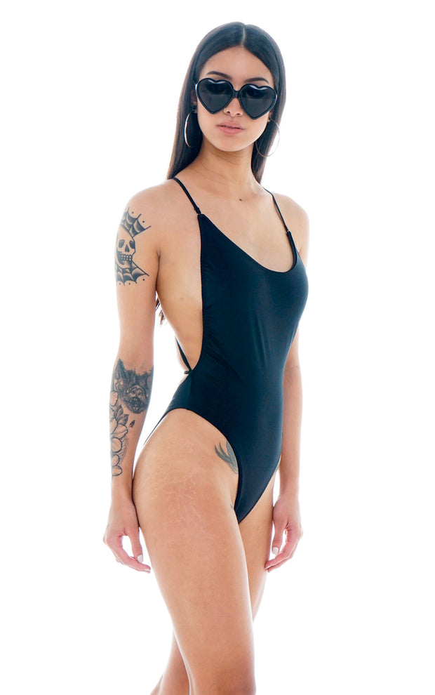 SWIMSUIT BLACK NOVENTERO