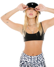 CROP TOP BASIC BLACK