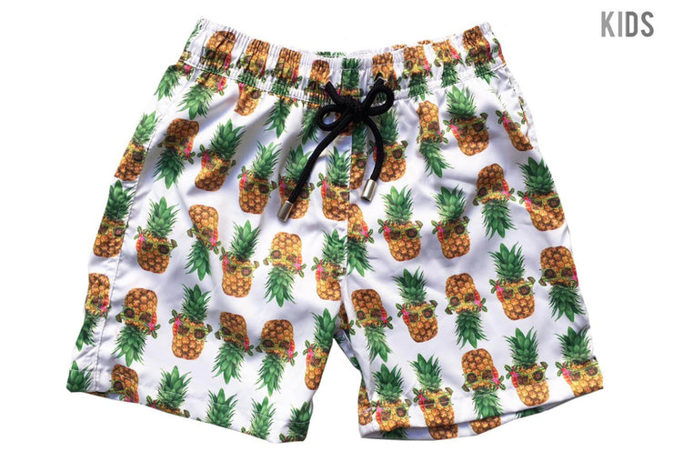 SWIM SHORTS PIÑA TROPICAL NIÑO