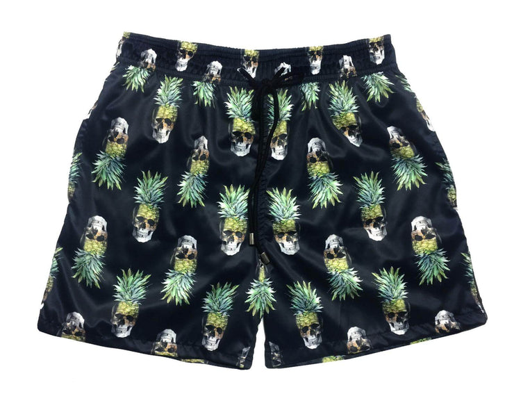 SWIM SHORTS PINEAPPLE SKULL