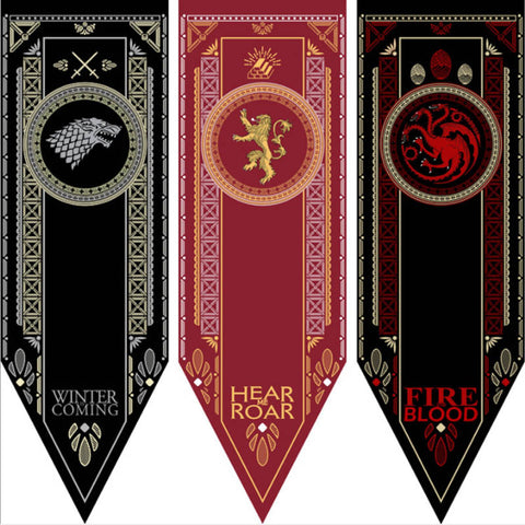 Game Of Thrones Flags Banner