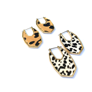 Marley Animal Print Earring - KAIT TYLER
