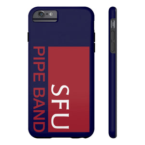 SFU Pipe Band Tough Phone Cases