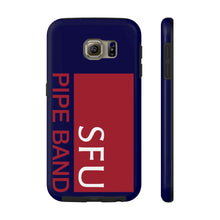 Load image into Gallery viewer, SFU Pipe Band Tough Phone Cases