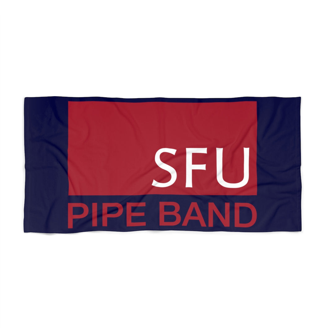 SFU Pipe Band Beach Towel