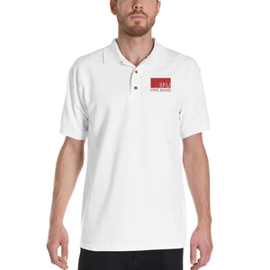 SFU Pipe Band Embroidered Polo Shirt