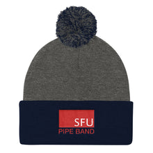 Load image into Gallery viewer, SFU Pipe Band Embroidered Toque