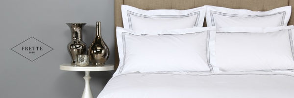 SLEEPING IN STYLE WITH FRETTE BEDDING