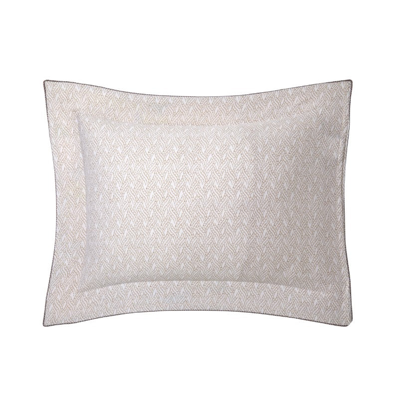 Yves Delorme Bagatelle Egyptian Cotton Oxford Pillowcase Reverse