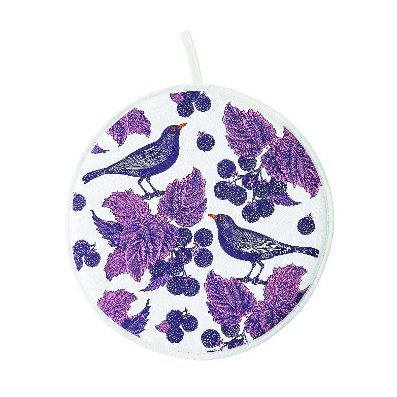 Blackbird & Bramble Cotton Aga Hob Cover