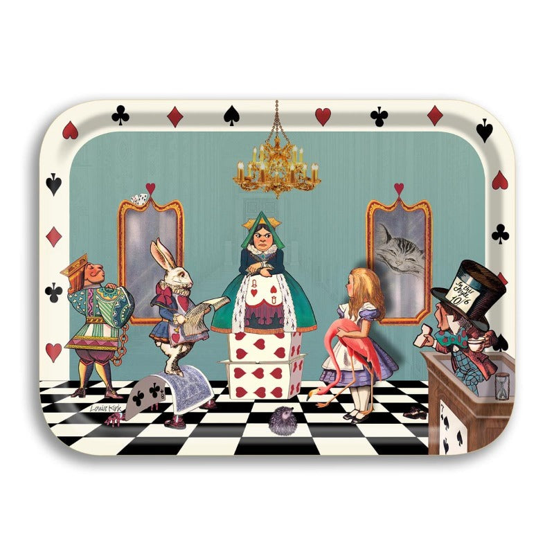 Alice in Wonderland 'Court of Hearts' Tray