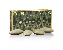 Ortigia Bergamot Soap Set 40g x4 with box. Part of the Bergamotto range