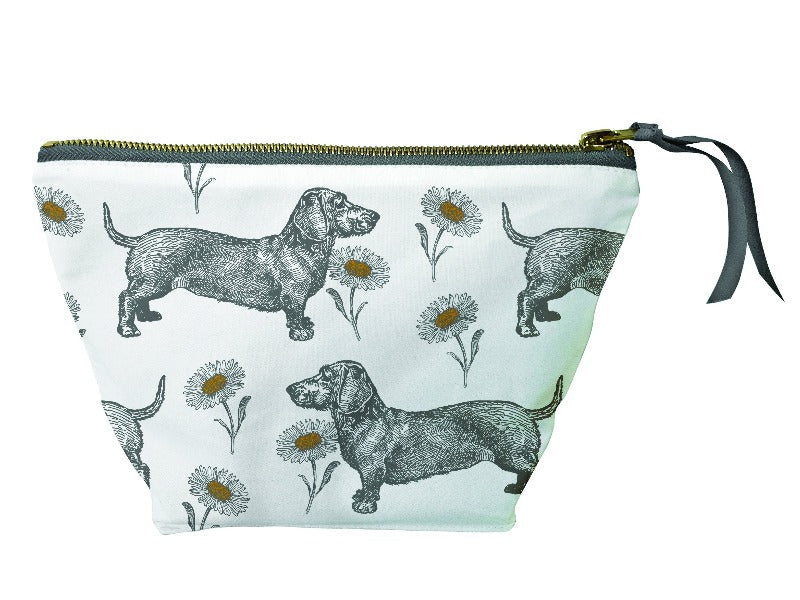Thornback & Peel - Dog & Daisy Cosmetic Bag Large