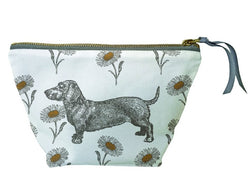 Thornback & Peel Dog & Daisy Cosmetic Bag Small