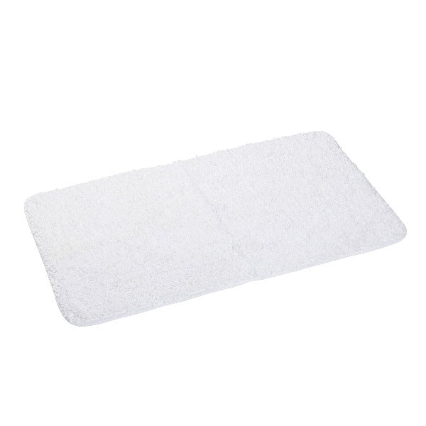 Imperial Luxury Cotton Large Bath Mat - White