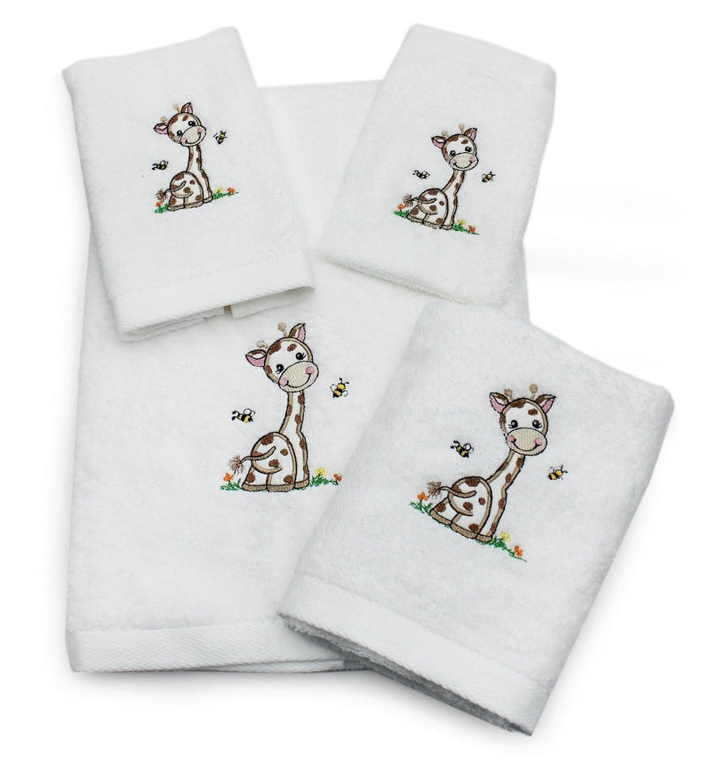 Children's Jerry Giraffe Cotton Towel Collection