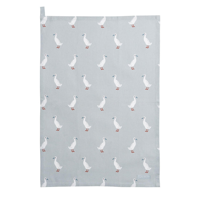 Sophie Allport Runner Duck Cotton Tea Towel
