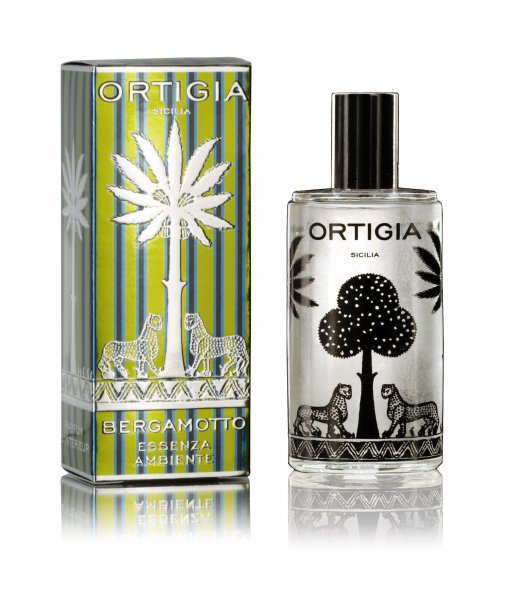 Ortigia Bergamot Room Essence 100ml with box. Part of the Bergamotto range