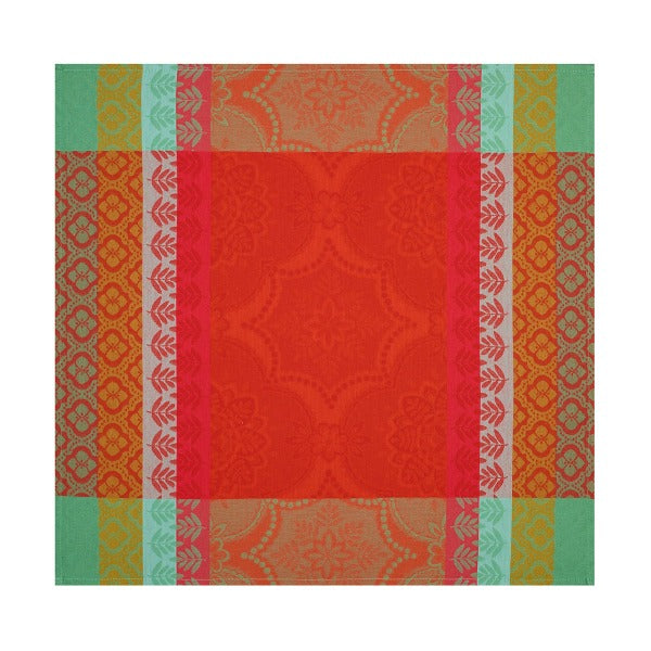 Bastide Cotton Napkin - Red Pepper colour pattern