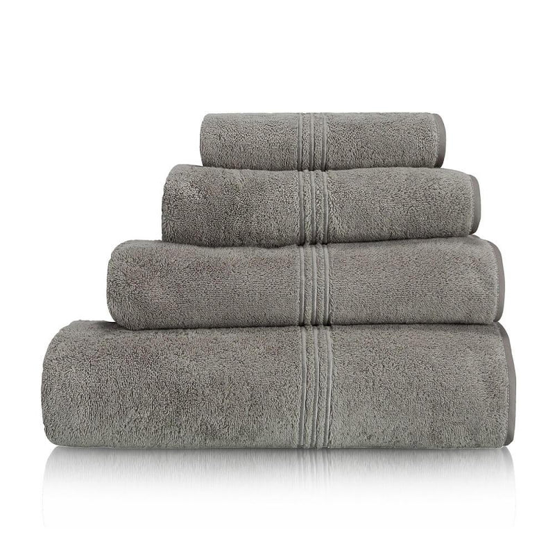 Woods Contessa Egyptian Cotton Towel Collection Silver Grey