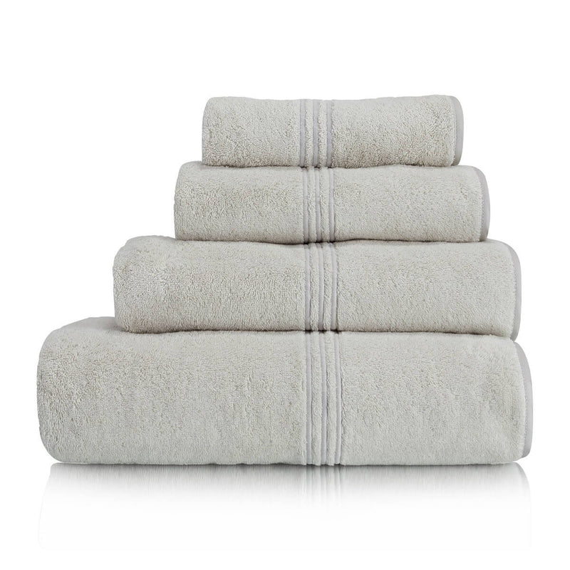 Woods Contessa Egyptian Cotton Towel Collection Oyster Silver