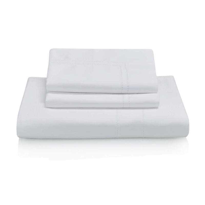 Woods Udine Egyptian Cotton Bed Linen Collection - White