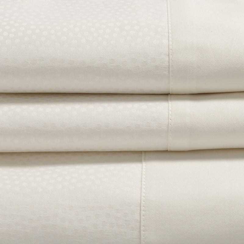 Woods Aquileia Egyptian Cotton White Bed Linen Collection