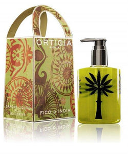 Ortigia Fico D'India Liquid Soap 300ml with box