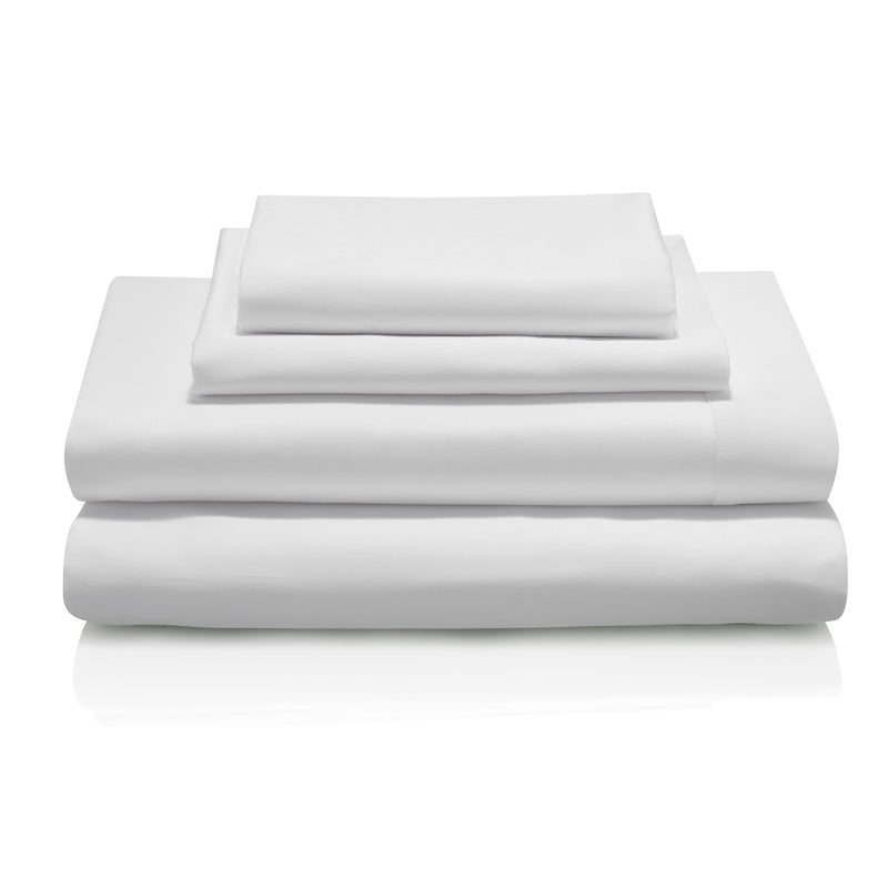 Murano Egyptian Cotton White Bed Linen Collection