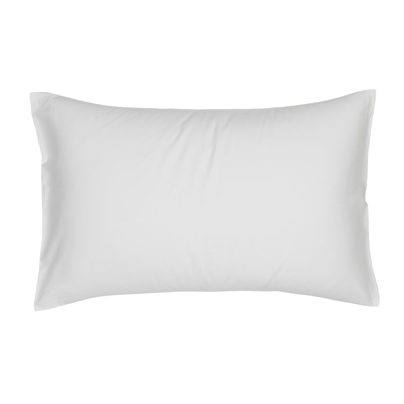 Woods Murano Egyptian Cotton Housewife Pillowcase White