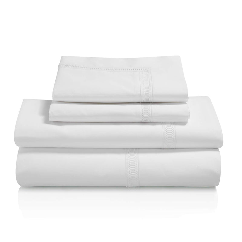 Graziano Notre Dame Egyptian Cotton Bed Linen Collection White