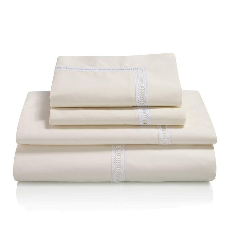 Graziano Notre Dame Egyptian Cotton Bed Linen Collection Cream