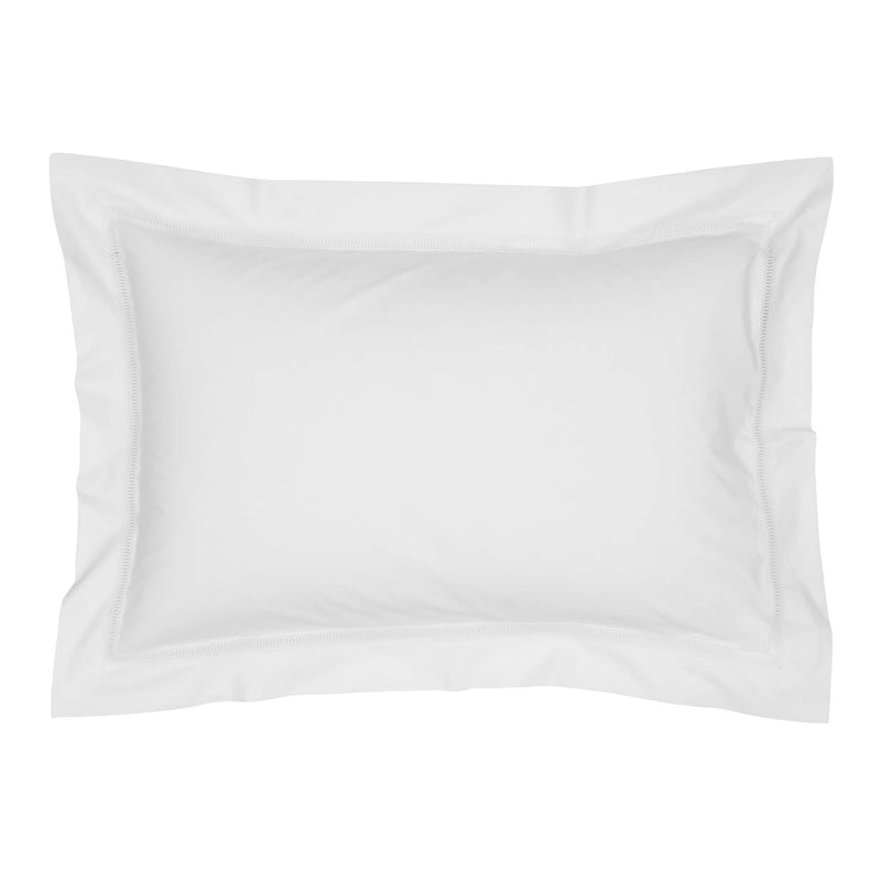 Graziano Notre Dame Egyptian Cotton White Oxford Pillowcase