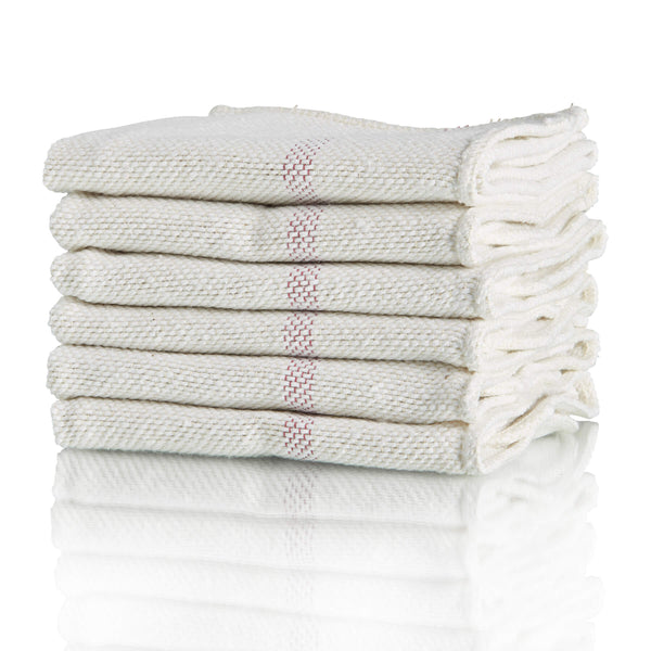 Woven Cotton Floor Cloth 6 Pack