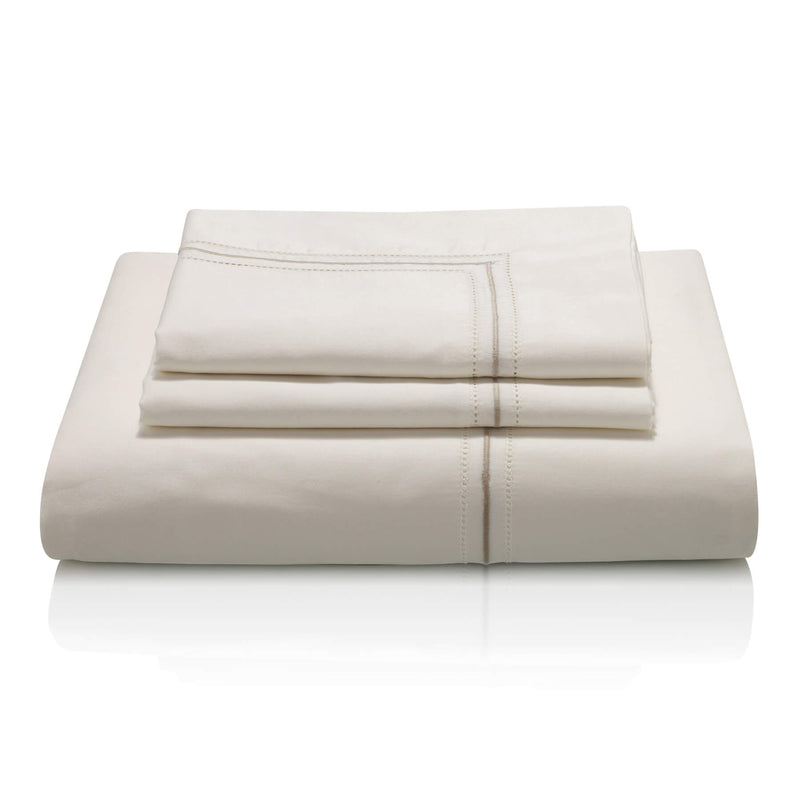 Woods Verona Egyptian Cotton ivory/beige Bed Linen Collection